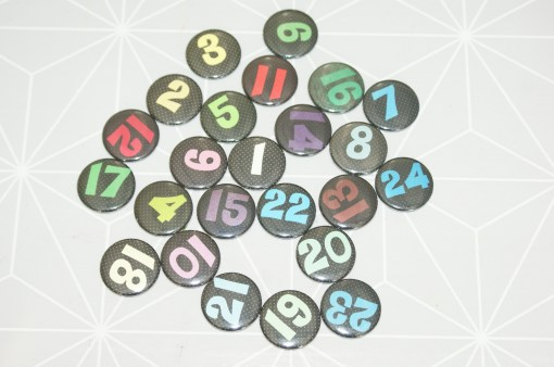 Advents Kalender Buttons 21 CHF