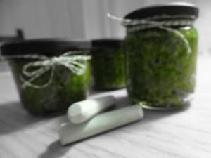Fertig: Bärlauch Pesto