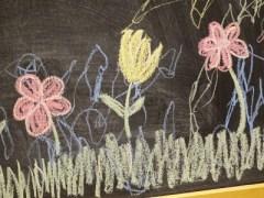 Wandtafelboard: Gemeinschaftsprojekt mit Mini-Me