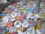 Viele bunte Buttons