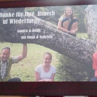 Die super sympathische Familie Ackermann Mächler vom Guldenthal.