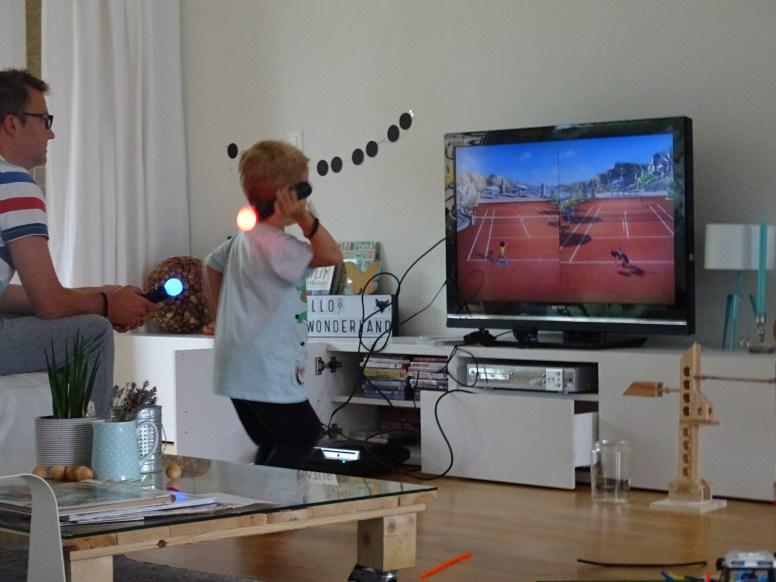 playstation tennis game