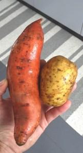 süsskartoffel meets kartoffel