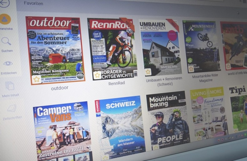 meine wall bei readly