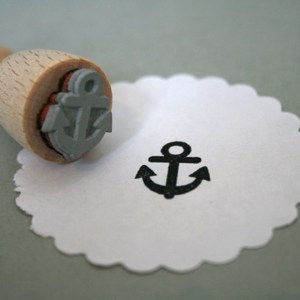 Perlenfischer Stempel Anker E015