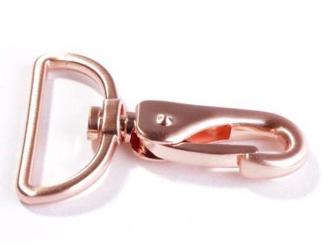 Snaply Taschenkarabiner Kupfer 40mm