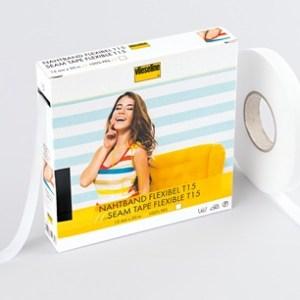 Vlieseline - Nahtband T15 weiss