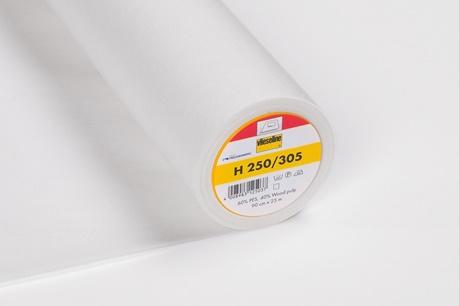 Vlieseline - Vlieseinlage H250 weiss