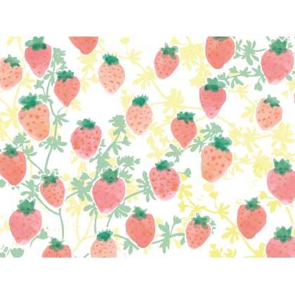 Waldgraefin Postkarte Strawberry WG049