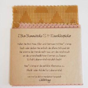 2 Bio Bienenwachstücher S