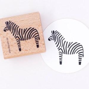 Zebra-Stempel