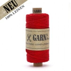 Leinen-Zwirn Rot