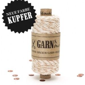 Bäckergarn Kupfer-Naturweiss Bäcker-Garn, Kupfer-Naturweiss