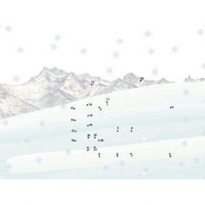 Waldgraefin Malen nach Zahlen Berg 15015-01-500x500