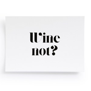 fideadesighn postkarte wine-not-3156