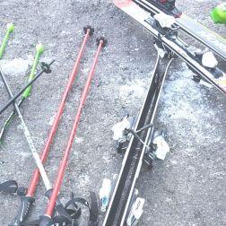 Materialschlacht Skifahren ;-)