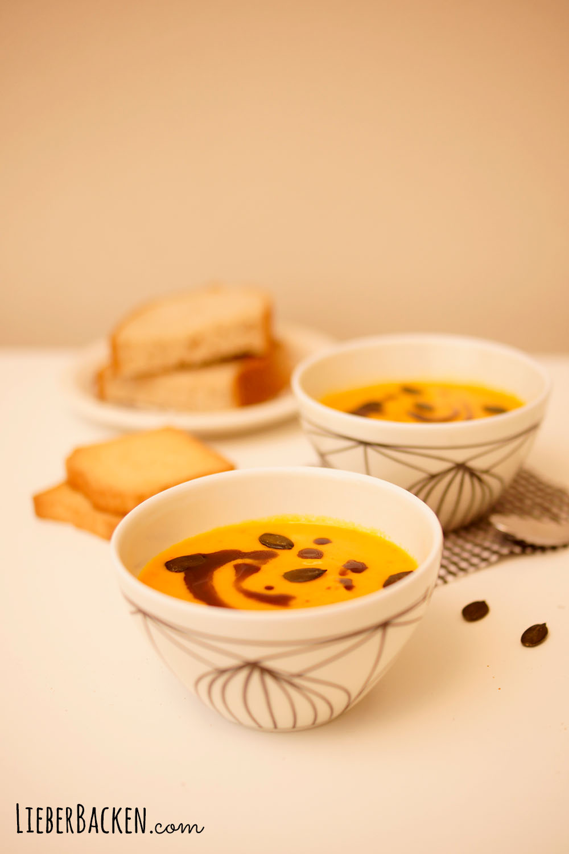 Kürbissuppe - einfaches Rezept