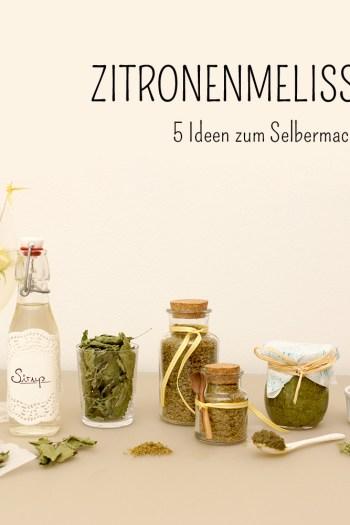 Zitronenmelisse Rezepte