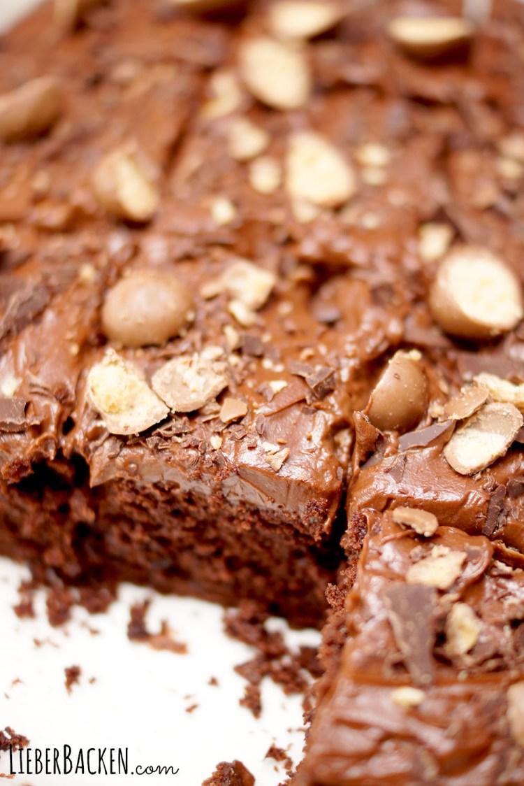 Einfaches Brownie Rezept