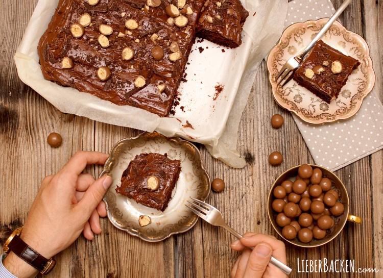 Maltesters Brownies nach Linda Lomelino