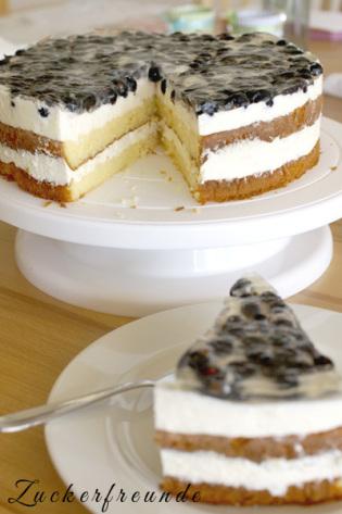 Johannisbeer-Torte