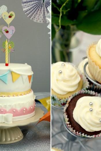 Motivtorte 1. Geburtstag Mädchen