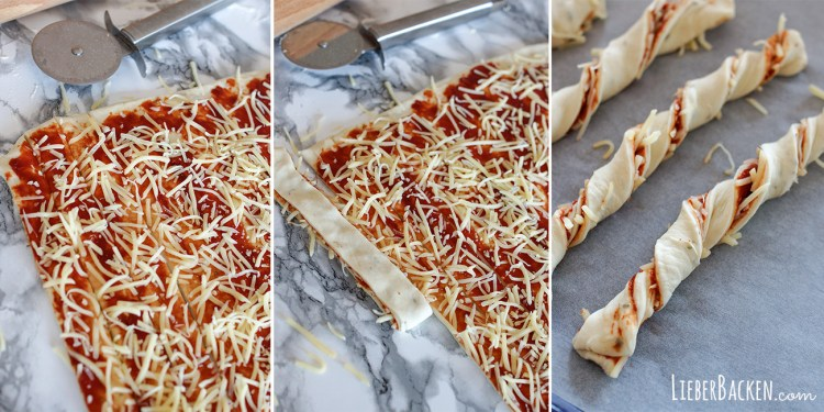 Pizza Stangen Step by Step