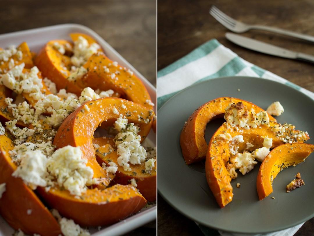 Was tun im Herbst? Ofenkürbis mit Feta nachbacken! | Herbst Bucket List - 30+ Aktivitäten mit Kindern im Herbst