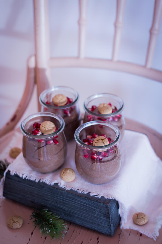 Weihnachtliches Dessert Im Glas Cremige Schoko Creme Lieberbacken