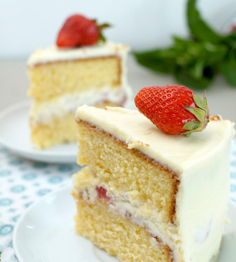 erdbeer-torte