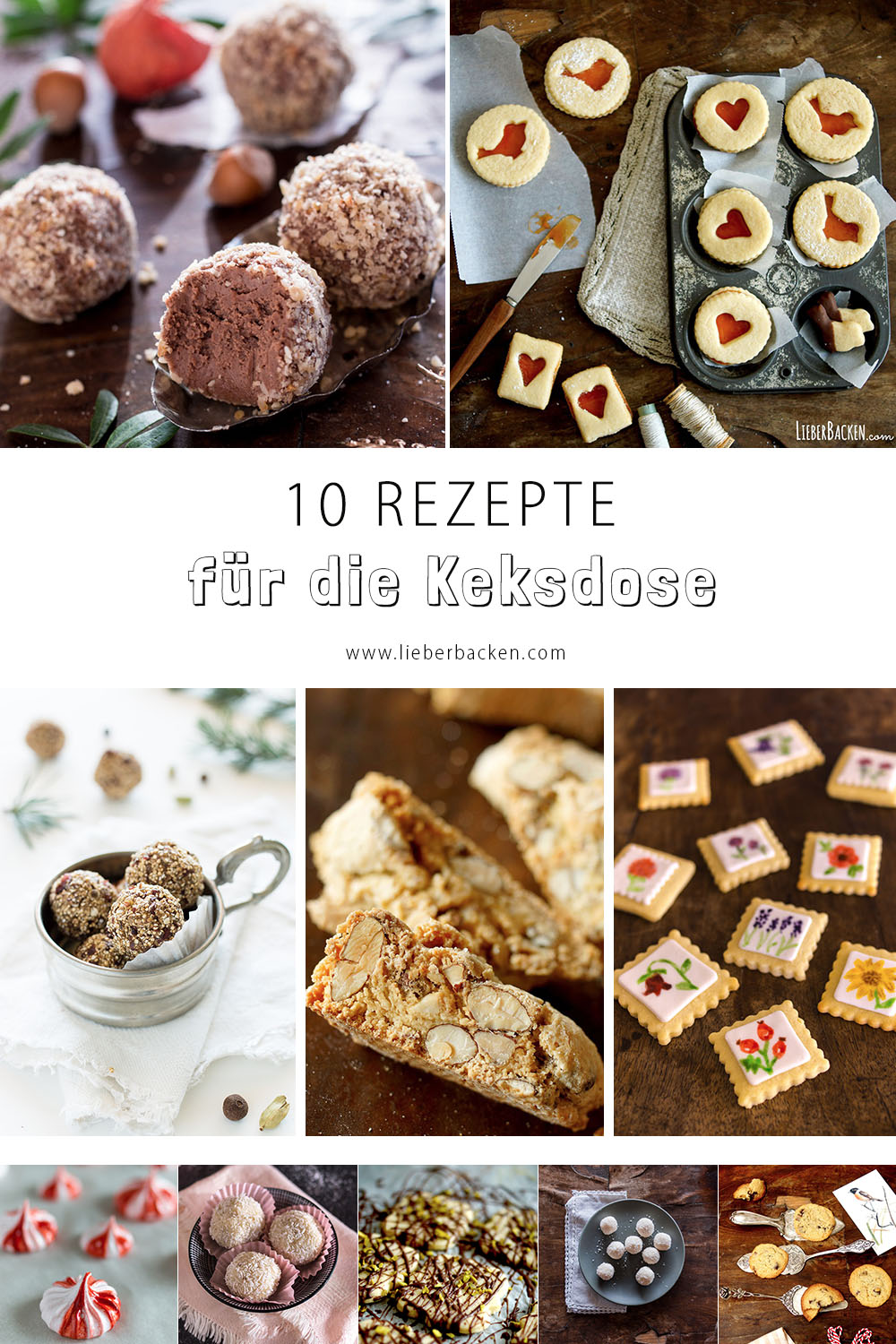 10 Rezepte für die Keksdose - Weihnachten kann kommen!