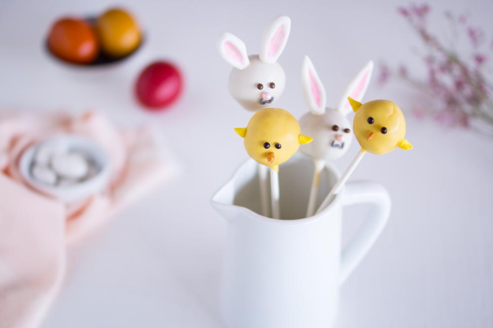 Cakepops Ostern: Hasen & Küken | 10+ Rezeptideen für Ostern