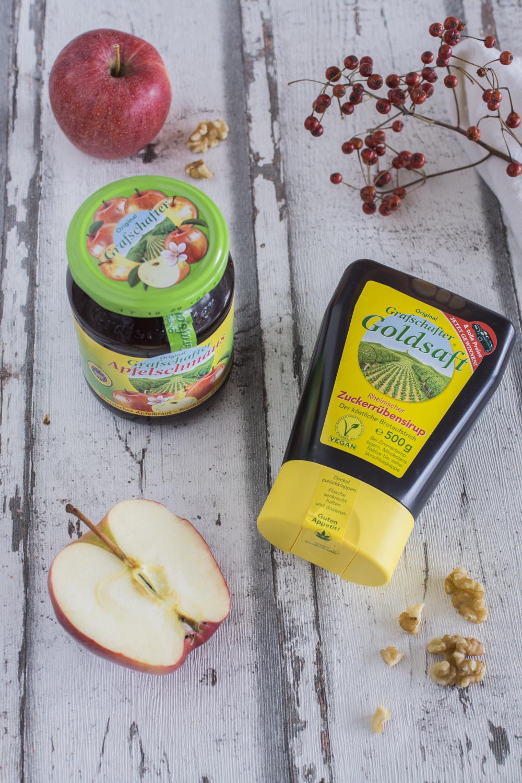 Backen mit Grafschafter Goldsaft und Apfelschmaus - leckeres Rezept