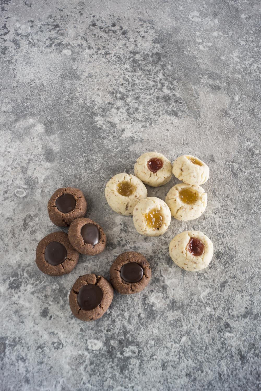 Engelsaugen mit Marmelade und mit Schokolade - einfache Rezepte | Weihnachtskekse