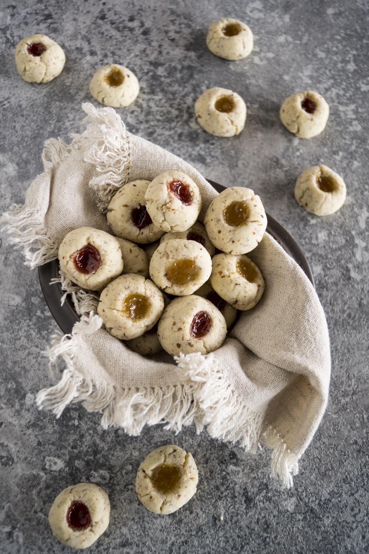 Engelsaugen Husarenkrapfen mit Maremlade - einfaches Rezept