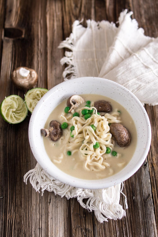 Einfache Asia-Suppe - leckeres Rezept