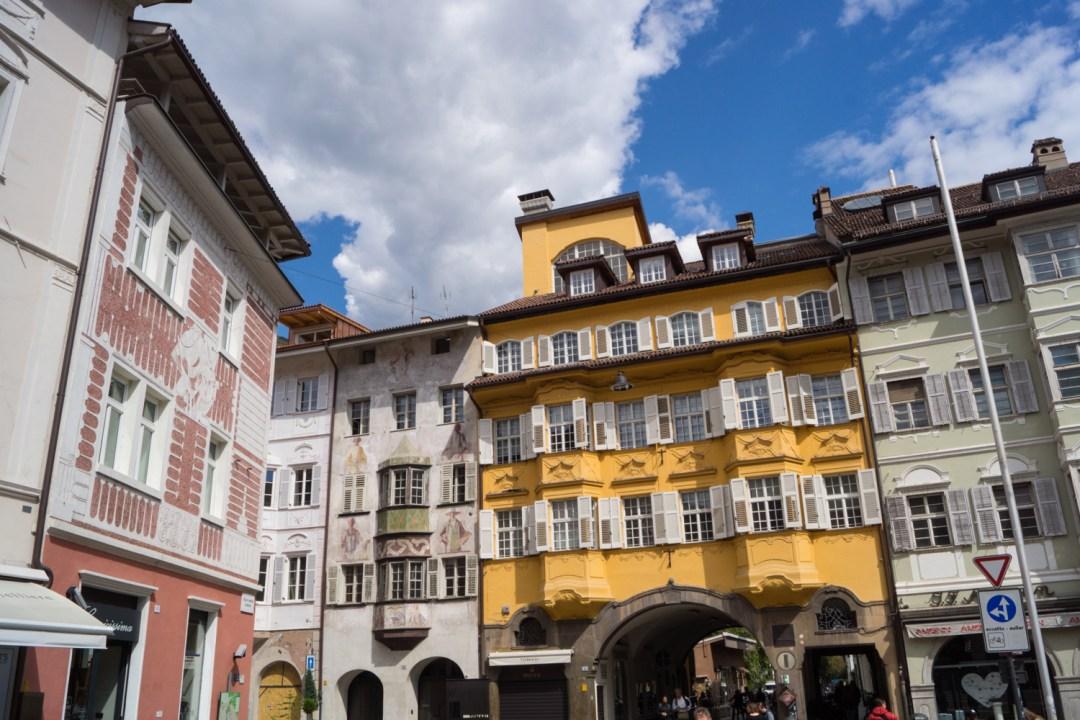 Bindergasse in Bozen - Reiseinfos zu Bozen