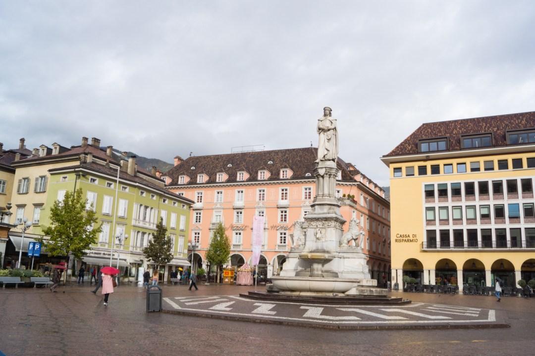 Waltherplatz Bozen - Südtirol Guide: die besten Tipps und Sehenswürdigkeiten