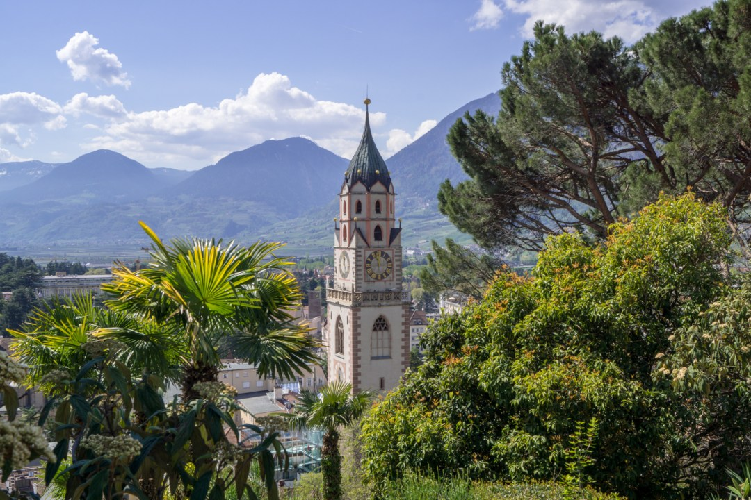 Ausblick vom Tappeinerweg - St. Nikolaus | Urlaub in Meran, Südtirol