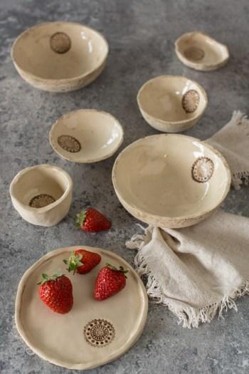 Töpfern ohne Töpferscheibe | Schüsseln und Teller aus Ton formen