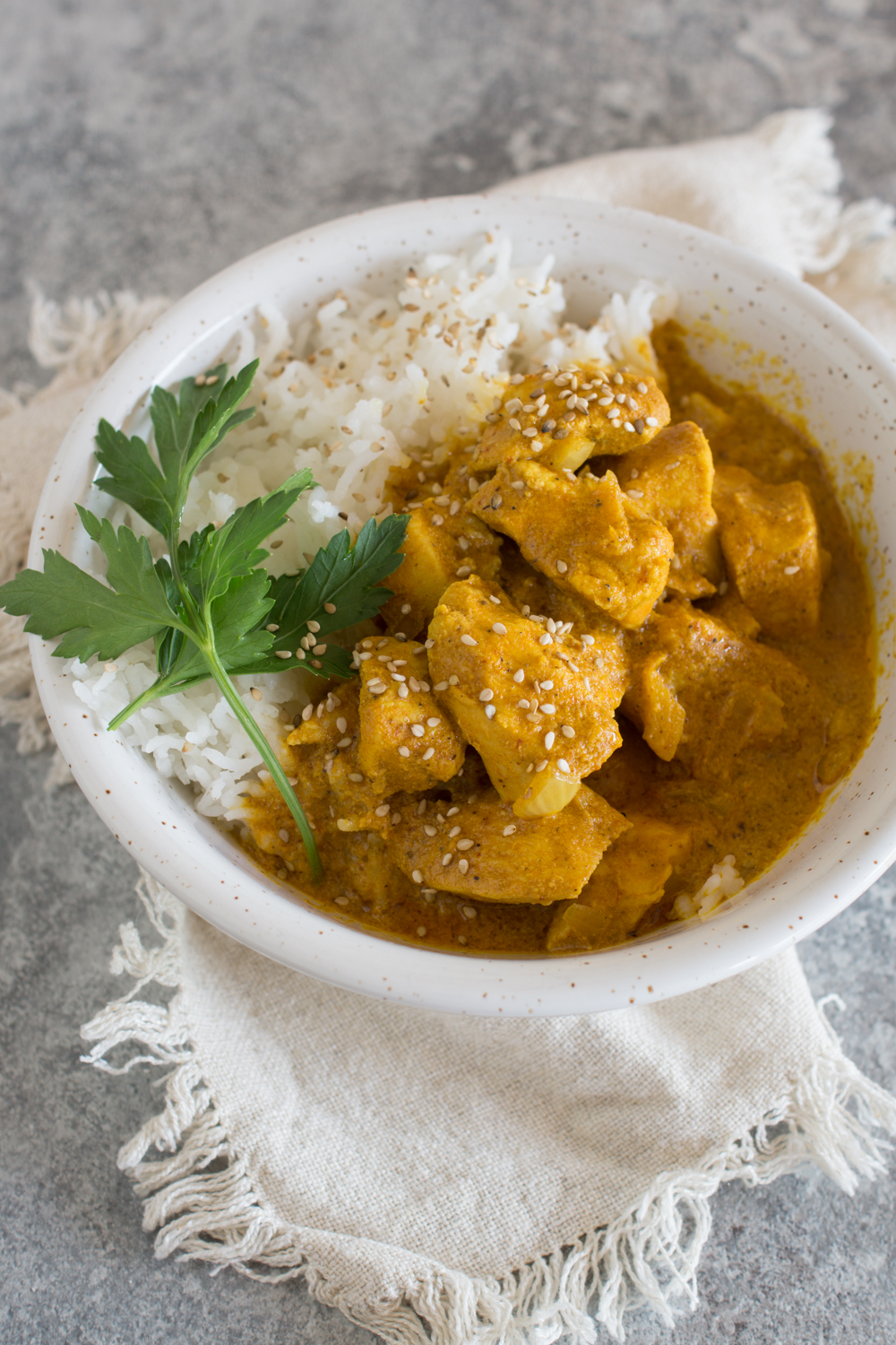 Chicken Curry | Butter Chicken | Slow Cooker Rezept - sehr lecker!