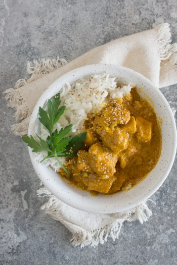 Butter Chicken | Sensationell leckeres Rezept für den Slow Cooker