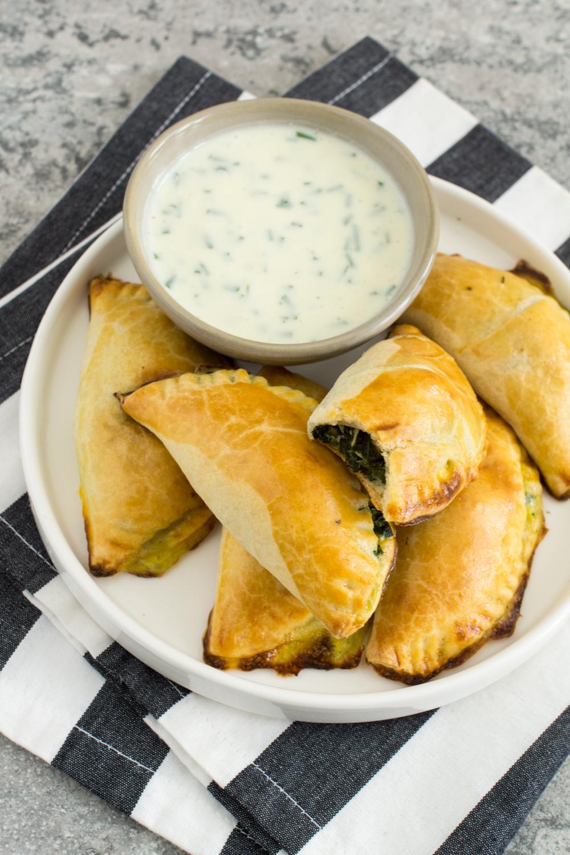 Empanadas - Spinat-Feta Empanadas