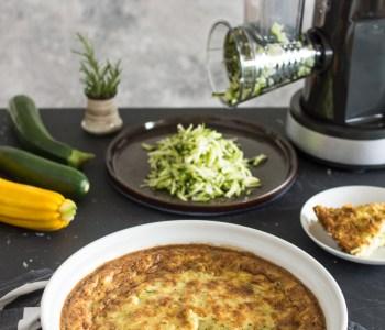 Zucchini-Tarte in Zusammenarbeit mit KRUPS