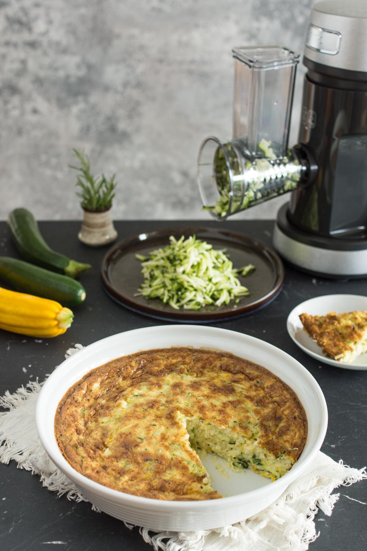 Zucchini Tarte ohne Boden: schnelles, einfaches Rezept | In Zusammenarbeit mit KRUPS