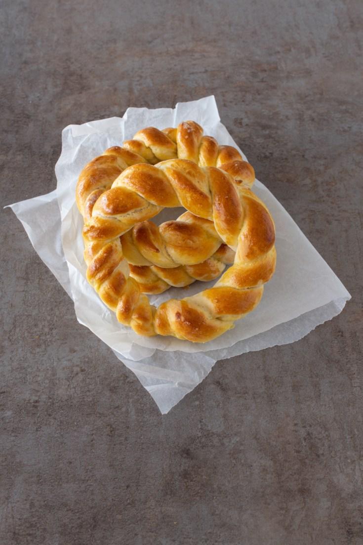 Hefekringel für Ostern - Einfaches Rezept