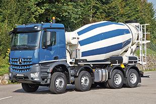 truck mixer liebherr