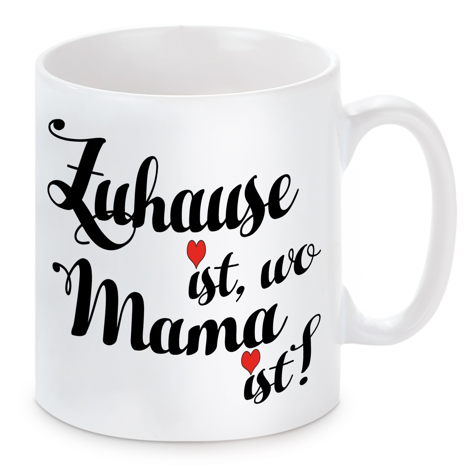 Tasse Modell Zuhause Ist Wo Mama Ist