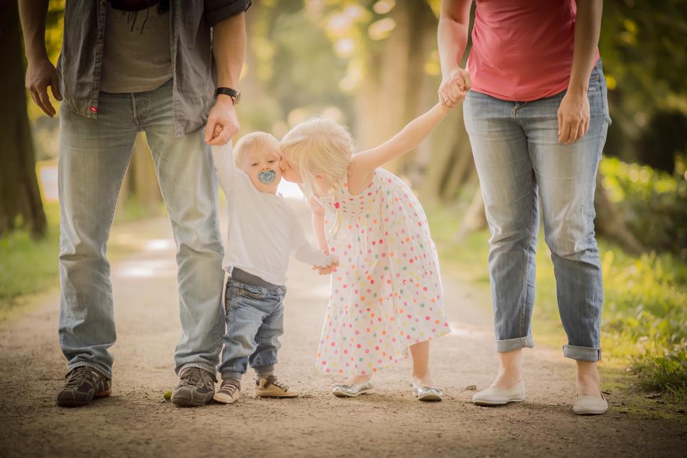 Familienshooting im Ratinger Cromfordpark