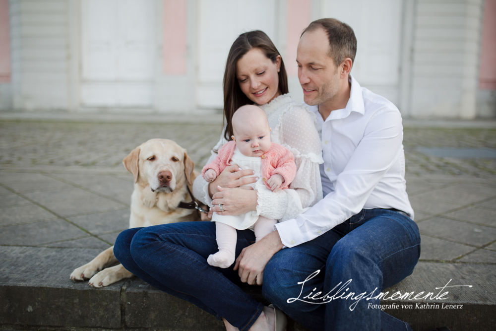 Familienshooting an Schlo Benrath  Lieblingsmomente